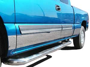 "98-01 DODGE RAM QC SB 5 3/4"" Rocker Panels"
