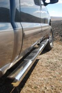 "1999-2014 Superduty Crew Cab 5"" Oval SST Step Bar"