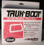 Clear Truck Boot - midsize trucks